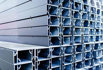 伟吉铝线槽-彩塑铝合金线槽定制