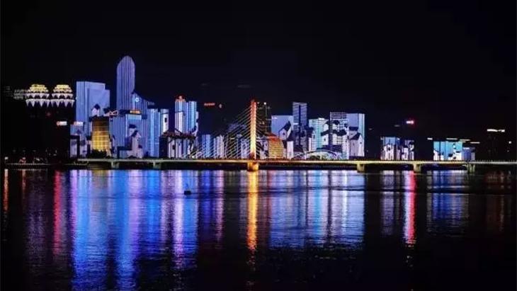 厦门金砖会议照明亮化工程铝合金灯槽定制案例