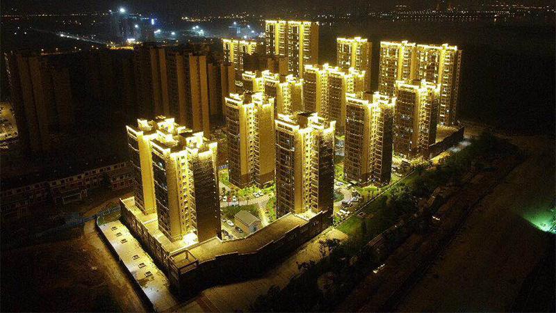 武汉军运会照明亮化工程铝合金桥架定制案例