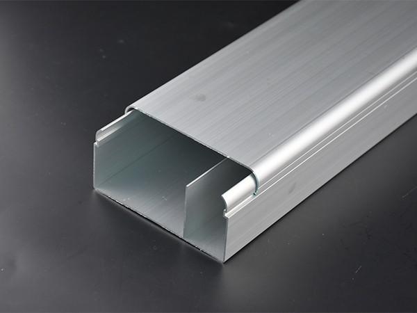 铝合金线槽带隔板100*50