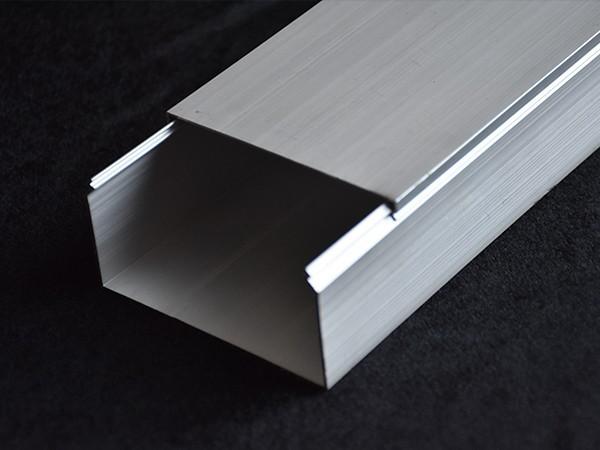 铝合金方形线槽80*40