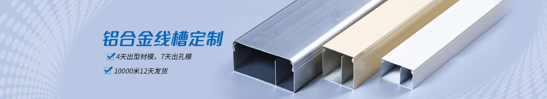 伟吉铝合金线槽定制-4天出型材模,7天出孔模。10000米12天发货