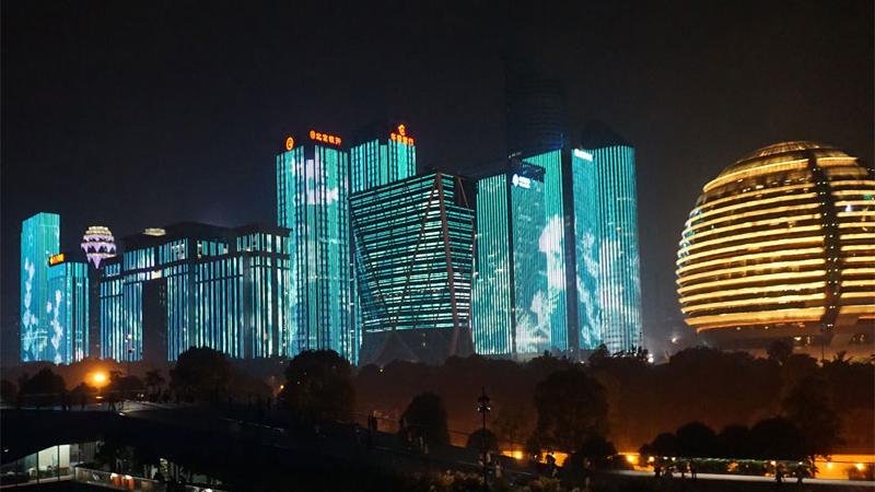 杭州G20照明亮化工程铝线槽定制案例