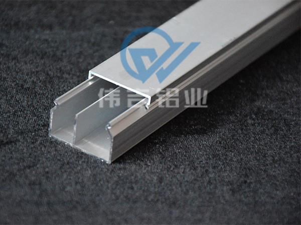铝合金线槽带隔板30*20