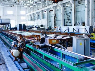 伟吉铝业自动化挤压流水线